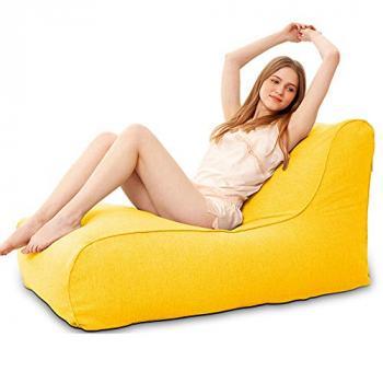 Ghế lười sofa vải da lộn