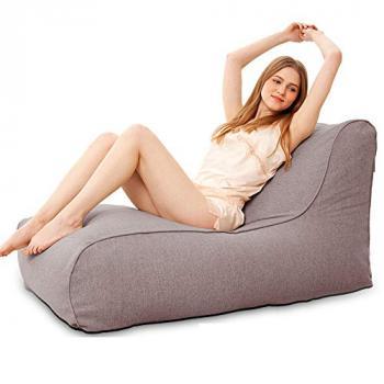 Ghế lười sofa vải thô bố